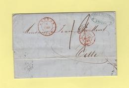 Anvers - 6 Mars 1849 - Belgique Valenciennes - 1830-1849 (Belgique Indépendante)