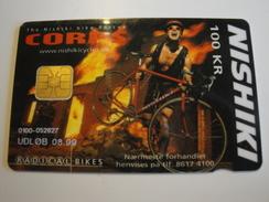 1 Chip Phonecard From Denmark - Bike