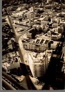 CPSM Meknès Vue Aérienne, à Droite L'avenue De La République, à Gauche L'avenue De France - Meknès