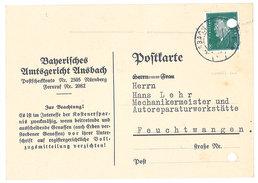 Carte Commerciale Allemagne - Banerifches .. - Publicité