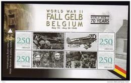 WWII, World War II, Fall Gelb Belgium S/Sheet Grenada Mnh. - 2. Weltkrieg