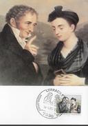 ALLEMAGNE    Carte Maxi    1985 Johann Peter Hebel Poete