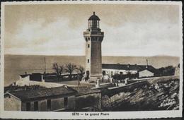 CPA - FRANCE - Sète - écrit Cette Jusqu'en 1927 Est Situé Dans Le Dép. De L'Hérault - Le Grand Phare - TBE - Sete (Cette)