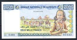 461-Djibouti Billet De 2000 Francs 1997 O.001     Neuf - Djibouti