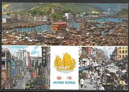 1976 Hong Kong, Multiple Views, Mailed To USA - China (Hong Kong)