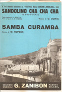 SANDOLINO CHA CHA CHA - SAMBA CURAMBA  Dukic Ropeck  Edizioni Musicali Zanibon - Folk Music