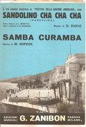 SANDOLINO CHA CHA CHA - SAMBA CURAMBA  Dukic Ropeck  Edizioni Musicali Zanibon - Musica Popolare