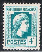 FRANCE : N° 643 ** (Coq Et Marianne D'Alger) - PRIX FIXE - - 1944 Coq Et Marianne D'Alger