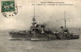 LIBERTE CUIRASSE MARINE MILITAIRE - Warships