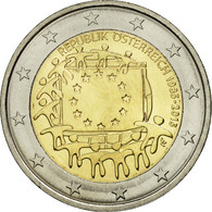 Autriche, 2 Euro, Flag, 2015, SPL, Bi-Metallic - Autriche