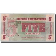 Grande-Bretagne, 5 New Pence, Undated (1972), KM:M47, SPL - Military Issues