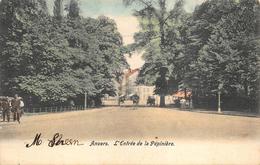 Antwerpen Anvers    L'entree De La  Pépinière  Parc Park     X 1274 - Antwerpen