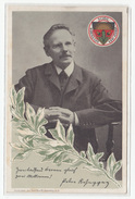 Peter Rosegger, Deutscher Schulverein (German School Association) Postcard Unused B170429 - Ecrivains
