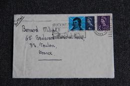 Lettre Du BUCKHAVEN à TOULON ( Poste Aérienne) - Covers & Documents