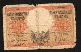Banconota Albania 10 Lek 1940 Circolata - Albania