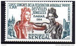 Sénégal P.A. N° 41 XX Congrès De La Fédération Mondiale Des Villes Jumelées à Dakar Sans Charnière, TB - Senegal (1960-...)