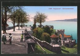 AK Rapperswil, Kinder Auf Der Schlossterrasse - SG St. Gall