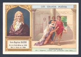 Chromo - Bon Point - Farine Lactée Salvy - Les Grands Poètes - Jean-Baptiste Racine - Andromaque - Old Paper