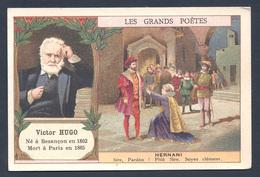 Chromo - Bon Point - Farine Lactée Salvy - Les Grands Poètes - Victor Hugo - Hernani - Old Paper