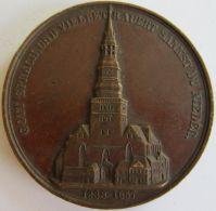 M02013 GOTT SPRACH UND VIELBET RAUERT SANKST DU NIEDER - 1842 (48g) Gott Spricht...  Au Revers - Professionnels/De Société