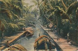 Ceylan Negambo Canal - Sri Lanka (Ceylon)