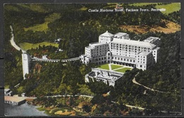 1954 Bermuda, Castle Harbour Hotel, Tuckers Town, Mailed - Postcards