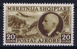 Albania: Mi Nr 312  1939  Neuf Sans Charniere /MNH/**/postfrisch - Albanie