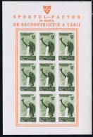 Romenia: 1945 Neuf Sans Charniere /MNH/**/postfrisch Block - Blocks & Sheetlets