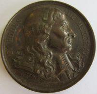M02014  F. EUDES DE MEZERAY -  1817 - Son Profil (36g) Né à Ry...  Au Revers - Professionals / Firms