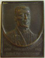 M02022  PHILIPPE FRANCOIS VICTOR BAUCQ - 1880 - 1915 - Son Buste (72g) Remember..... Au Revers - Profesionales / De Sociedad