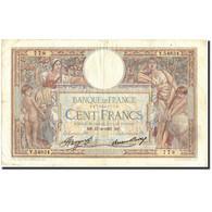 France, 100 Francs, 100 F 1908-1939 ''Luc Olivier Merson'', 1937, 1937-06-17 - 100 F 1908-1939 ''Luc Olivier Merson''