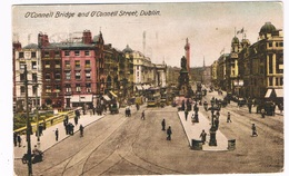 EIRE-91   DUBLIN : O'Connell Bridge And O'Connell Street - Dublin