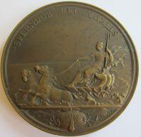 M05236  SPLENDOR REI NAVALIS - BUREAU VERITAS 1828 - 1928 (158g) Couronne De Lauriers Au Revers - Professionnels / De Société