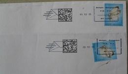 België 2015 P.B.-P.P. 1099 Brussel X (datum Zonder Cirkell + Met Barcode + Met En Zonder Letter C - Groot Pictogram) - Maschinenstempel