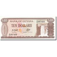 Guyana, 10 Dollars, 1966, Undated (1966-1992), KM:23f, NEUF - Guyana