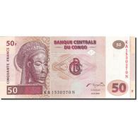 Congo Democratic Republic, 50 Francs, 2000, KM:91a, 2000-01-04, SPL - Republic Of Congo (Congo-Brazzaville)