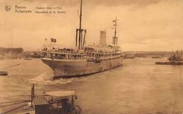 Antwerpen Anvers     Stoomboot In De Haven        X 1334 - Antwerpen