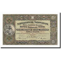 Suisse, 5 Franken, 1913-53, KM:11o, 1951-02-22, SUP - Suiza