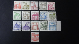 Germany - 1977-82 - Mi: 914,916-20,995-7,1028,1037-8,1139-43,**MNH - Look Scan