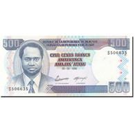 Burundi, 500 Francs, 1993-1997, KM:37a, 1995-02-05, SUP - Burundi