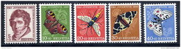 SWITZERLAND 1955 Pro Juventute Set  MNH / **.  Michel 618-22 - Pro Juventute