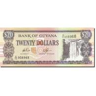 Guyana, 20 Dollars, 1996-1999, Undated (1996), KM:30e, SPL - Guyana