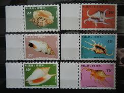 1984 - Y&T N° 312 & 317 ** - FAUNE MARINE, COQUILLAGES - Nuovi