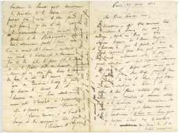 DUMONT, Aristide (Crest 1819 – Moulins 1902). Ingénieur Des Ponts Et Chaussées. Paris 1862 Lyon Dupin Le Verrier - Documents Historiques