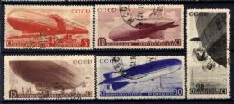 Russia 1934 Unif. A33/37 Usati/Used VF/F - 1923-1991 USSR