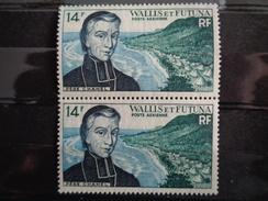 1955-1960 P.A.  - Y&T N° 15 X 2 ** - SAINT PIERRE CHANEL - Unused Stamps