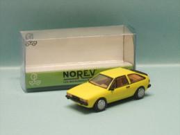 Norev - VOLKSWAGEN VW SCIROCCO II Jaune Neuf NBO HO 1/87 - Véhicules Routiers