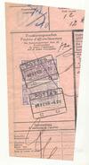 093A -België Spoorweg Chemin De Fer Stempel POTTES Op Fragment - Chemins De Fer