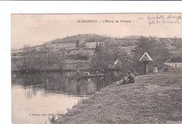 Carte Postale Ancienne De La Nièvre - Le Chatelet - L'Etang De L'Yonne - France