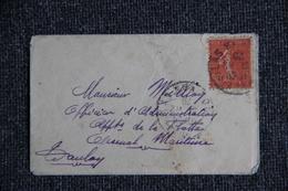 Lettre Envoyée De LYON à TOULON - Lettres & Documents